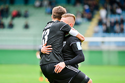 Rok Sirk of NS Mura and Luka Bobicanec of NS Mura during football match between NS Mura and NK Aluminij in 6th Round of Prva liga Telekom Slovenije 2018/19, on August 26, 2018 in Mestni stadion Fazanerija, Murska Sobota, Slovenia. Photo by Mario Horvat / Sportida