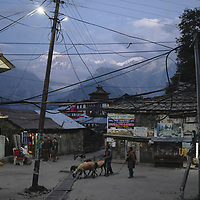 End of day in the village of Kalpa.