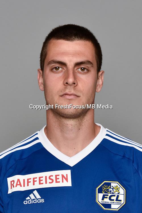 15.07.2016; Luzern; Fussball - FC Luzern;<br />Tomi Juric (Luzern)<br />(Martin Meienberger/freshfocus)