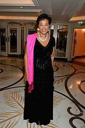 BARONESS SCOTLAND OF ASTHAL at the inaugural Stephen Lawrence Memorial Ball held at The Dorchester, Park Lane, London on 17th October 2013.
