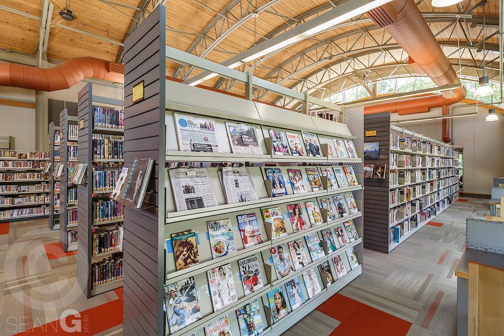Biblomodel library shelving, Little Rock, Ark.