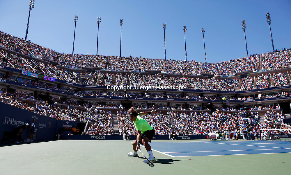 US Open 2010, USTA Billie Jean King National Tennis Center, Flushing Meadows, New York,.ITF Grand Slam Tennis Tournament . Rafael Nadal (ESP)