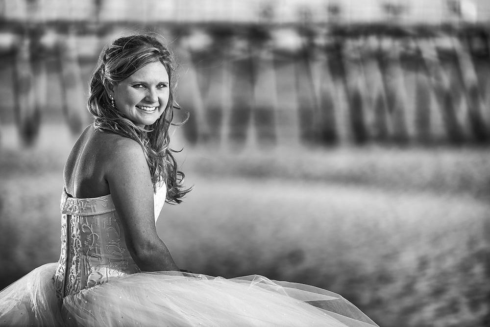 Courtney Bridal Portrait | Atlantic Beach NC Photographers