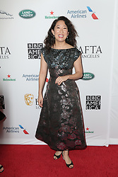 September 21, 2019, La, United States of America: Sandra Oh arriving at the BAFTA LA TV Tea Party at The Beverly Hilton on September 21 2019 in Los Angeles, USA  (Credit Image: © Famous/Ace Pictures via ZUMA Press)