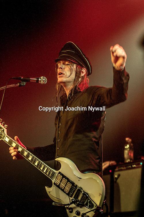 2016 11 04 Stage Box N3 Trollh&auml;ttan<br /> Imperial State Electric<br /> Nicke Royale Andersson vocals guitar<br /> <br /> ----<br /> FOTO : JOACHIM NYWALL KOD 0708840825_1<br /> COPYRIGHT JOACHIM NYWALL<br /> <br /> ***BETALBILD***<br /> Redovisas till <br /> NYWALL MEDIA AB<br /> Strandgatan 30<br /> 461 31 Trollh&auml;ttan<br /> Prislista enl BLF , om inget annat avtalas.