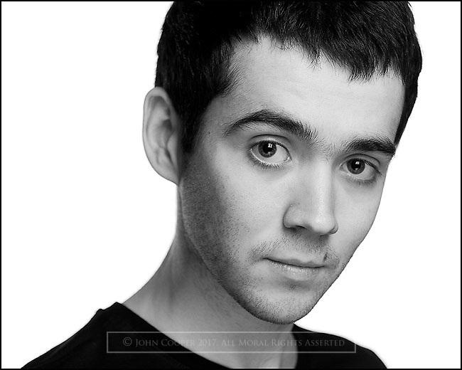 Headshot of actor, Conner Webster.