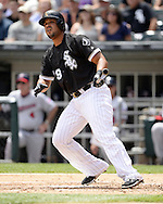 CHICAGO - JUNE 30:  Jose Abreu #79 of the Chicago White Sox bats against the Minnesota Twins on June 30, 2016 at U.S. Cellular Field in Chicago, Illinois.  The White Sox defeated the Twins 6-5.  (Photo by Ron Vesely) Subject:    Jose Abreu