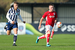 Joe Morrell of Bristol City U23 in action - Rogan Thomson/JMP - 31/10/2016 - FOOTBALL - SGS Wise Campus - Bristol, England - Bristol City U23 v Millwall U23 - U23 Professional Development League 2 (South Division).