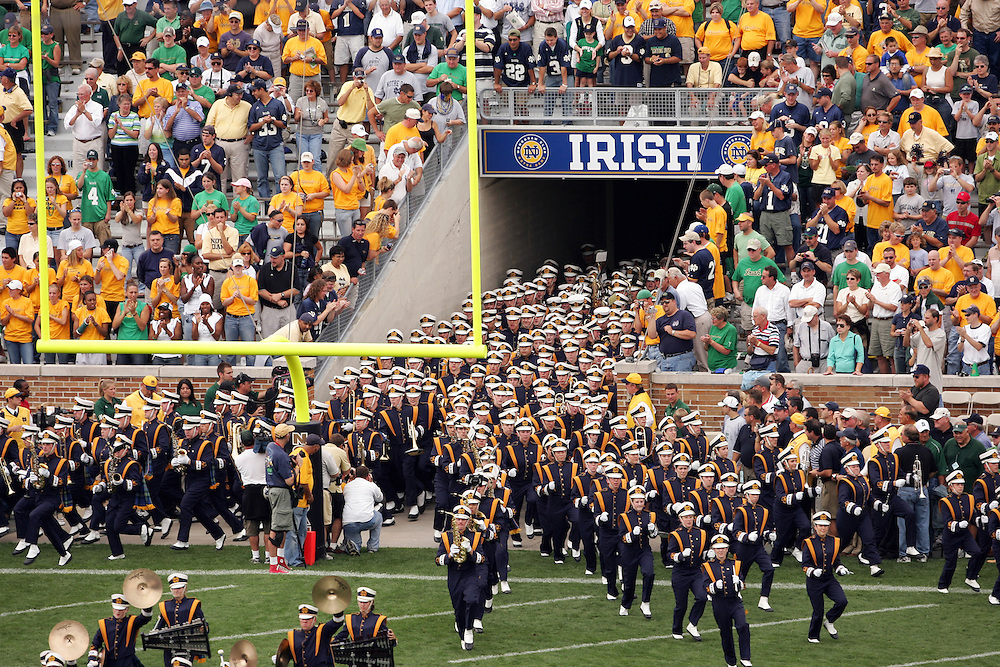 Sept. 17, 2005; South Bend, IN USA; at Notre Dame Stadium Saturday September 17, 2005. Mandatory Credit: Photo By Matt Cashore-US PRESSWIRE Copyright (c) 2005 Matt Cashore