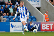 Colchester United's Frankie Kent(6) plays a pass during the EFL Sky Bet League 2 match between Colchester United and Carlisle United at the Weston Homes Community Stadium, Colchester, England on 14 October 2017. Photo by Phil Chaplin