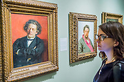 Anton Rubinstein (L) and Modest Mussorgsky both  by Ilia Repin, 1881 - Russia and the Arts: The Age of Tolstoy and Tchaikovsky - Part of a cultural exchange with the State Tretyakov Gallery in Moscow, a new exhibition marking the 160th anniversary of both galleries. Works include key figures from the 'golden age of the arts' in Russia, 1867-1914. Runs until June 26. Private view March 14. National Portrait Gallery, St Martin's Place, London.