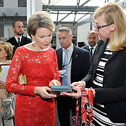 20160616 - Brussels , Belgium - 2016 June 16th - European Development Days - Visit of Her Majesty Mathilde the Queen of Belgians © European Union
