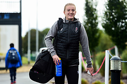 Sophie Baggaley of Bristol City arrives at SGS College Stoke Gifford Stadium prior to kick off - Mandatory by-line: Ryan Hiscott/JMP - 29/09/2019 - FOOTBALL - SGS College Stoke Gifford Stadium - Bristol, England - Bristol City Women v Chelsea Women - FA Women's Super League