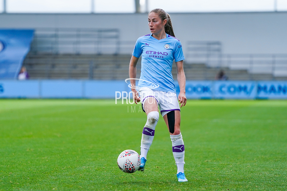 Manchester City Women forward Janine Beckie (11) during the FA Women's Super League match between Manchester City Women and BIrmingham City Women at the Sport City Academy Stadium, Manchester, United Kingdom on 12 October 2019.
