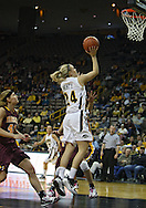 February 18, 2010: Iowa guard Jaime Printy (24) puts up a shot during the first half of the NCAA women's basketball game at Carver-Hawkeye Arena in Iowa City, Iowa on February 18, 2010. Iowa defeated Minnesota 75-54.