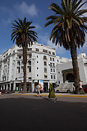 Morocco, Casablanca. art deco architecture,