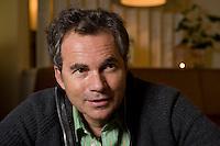 2008, BERLIN/GERMANY:<br /> Martin Varsavsky, argentinischer Unternehmer und Geschaeftsfuehrer und Gruender von FON, waehrend einem Interview, Restaurant Shiro I Shiro<br /> IMAGE: 20081020-04-002