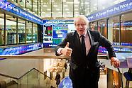 Boris Johnson opens London Stock Exchange