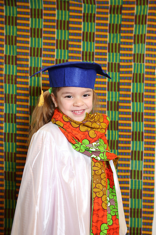 Seattle, WA - June 1, 2017<br /> <br /> Wellspring Family Services - Early Learning Center (ELC) graduation portraits
