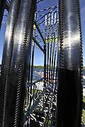 Hamilton, NEW ZEALAND.   GV's. General View. Crews boating. 2010 World Rowing Championship on Lake Karapiro Saturday  30/10/2010. [Mandatory Credit Peter Spurrier:Intersport Images].