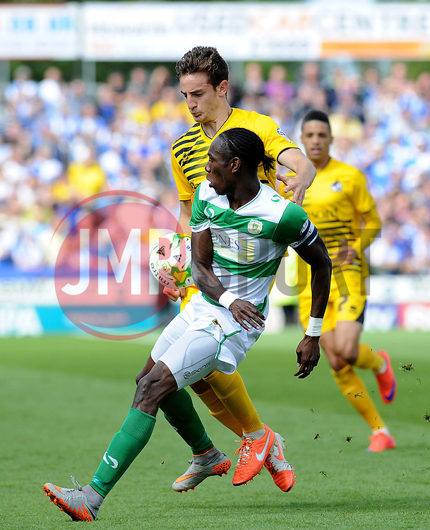 Tom Lockyer of Bristol Rovers - Mandatory byline: Neil Brookman/JMP - 07966386802 - 15/08/2015 - FOOTBALL - Huish Park -Yeovil,England - Yeovi Town v Bristol Rovers - Sky Bet League One