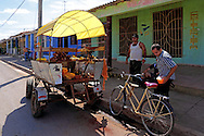 Vegetable sales in Candelaria, Artemisa, Cuba.