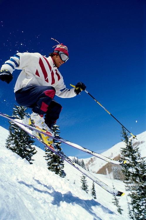 Robert skiing fresh snowPark City Ski Area, UT, USA
