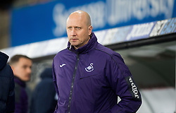SWANSEA, WALES - Tuesday, January 10, 2017: Swansea City's manager Cameron Toshack at the Football League Trophy 3rd Round match at the Liberty Stadium against Wolves Wanderers. (Pic by Gwenno Davies/Propaganda)