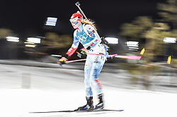 February 12, 2018 - Pyeongchang, Gangwon, South Korea - Marketa Davidova of Czech Republic competing at Women's 10km Pursuit, Biathlon, at olympics at Alpensia biathlon stadium, Pyeongchang, South Korea. on February 12, 2018. Ulrik Pedersen/Nurphoto  (Credit Image: © Ulrik Pedersen/NurPhoto via ZUMA Press)