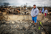 The Rockaways were especially hard hit by the Hurricane Sandy, with storm surge, hurricane winds and uncontrollable fires devastating the beach community.