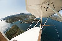 A birthday flight in Lakes Biplane April 28, 2012.