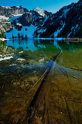 Upper Larch Lake, Cascade Mountains Washington State. (Photo by Aaron Schmidt © 2010)