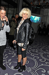 JAIME WINSTONE at a party hosted by Vauxhall Motors to celebrate their collaboration with menswear designer James Small following his Autumn/Winter 2012 show during London Fashion Week held at Corinthia Hotel, London on 22nd February 2012.