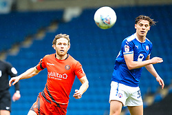Craig Mackail-Smith of Wycombe Wanderers challenges Sid Nelson of Chesterfield - Mandatory by-line: Robbie Stephenson/JMP - 28/04/2018 - FOOTBALL - Proact Stadium - Chesterfield, England - Chesterfield v Wycombe Wanderers - Sky Bet League Two