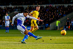 Liam Sercombe of Bristol Rovers has a shot on goal - Mandatory by-line: Ryan Hiscott/JMP - 29/12/2018 - FOOTBALL - Kassam Stadium - Oxford, England - Oxford United v Bristol Rovers - Sky Bet League One