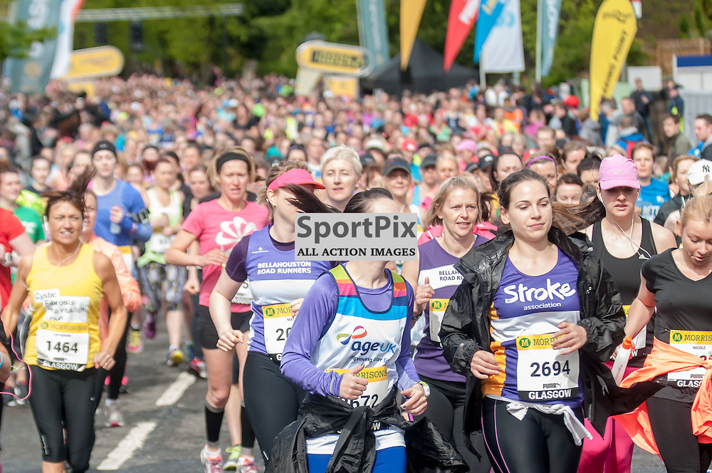 Images from the Great Womens 10km in Glasgow. Photo: Paul J Roberts / sportpix. All Rights Reserved