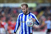 Sheffield Wednesday vice captain Barry Bannan (10) during the EFL Sky Bet Championship match between Barnsley and Sheffield Wednesday at Oakwell, Barnsley, England on 8 February 2020.