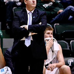 Feb 24, 2016; New Orleans, LA, USA; Tulane Green Wave head coach Ed Conroy against the East Carolina Pirates during the second half of a game at the Devlin Fieldhouse. Mandatory Credit: Derick E. Hingle-USA TODAY Sports