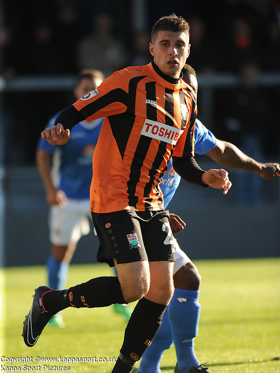 Adam Mekki Barnet FC, Barnet v Eastleigh, Vanarama Conference, Saturday 4th October 2014