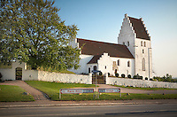 Elmelunde church on the island of Møn in Denmark.