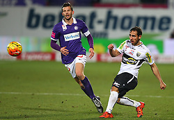 12.12.2015, Generali Arena, Wien, AUT, 1. FBL, FK Austria Wien vs Cashpoint SCR Altach, 20. Runde, im Bild Alexander Gorgon (FK Austria Wien) und Christian Schilling (Cashpoint SCR Altach) // during Austrian Football Bundesliga Match, 20th Round, between FK Austria Vienna and Cashpoint SCR Altach at the Generali Arena, Vienna, Austria on 2015/12/12. EXPA Pictures © 2015, PhotoCredit: EXPA/ Thomas Haumer