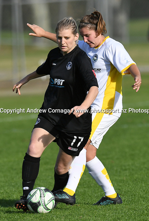 WSAFC's Laura Nottle.<br /> Eastern Suburbs v Western Springs, Premier Division 1 Women's football match, Madills Farm, Auckland, Sunday 20 May 2018. &copy; andrew cornaga / www.photosport.nz