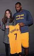 KATE Middleton & Prince William Meet LeBron James
