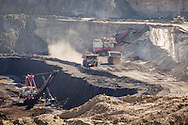 Coal mining, Alpha Coal West, Gillette, WY