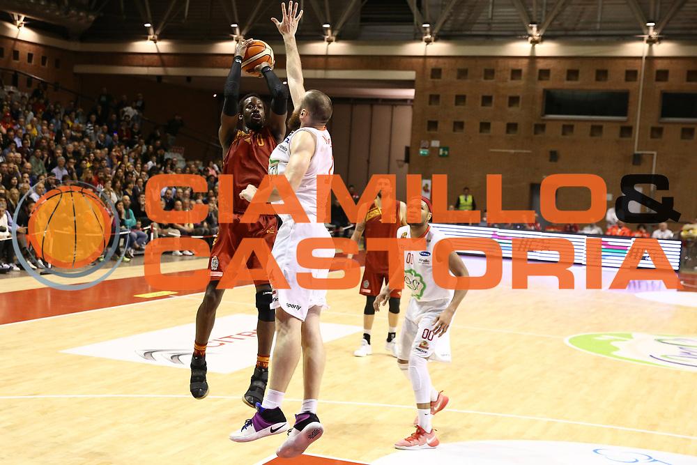 John Brown<br /> OraS&igrave; Ravenna vs Pallacanestro irtus Roma<br /> Campionato Basket LNP 2016/2017<br /> Paly Off Ottavi gara 2<br /> Ravenna 02/05/2017<br /> Foto Ciamillo-Castoria/A. Gilardi
