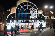 London Art Fair, Business Design Centre, Upper St. Islington. 19 January 2015