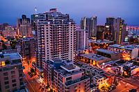 Downtown San Diego (Evening)