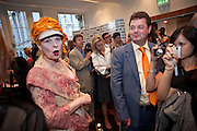 VIVIENNE WESTWOOD, ÒSAFFRON TUESDAYÓ UK PREMIERE OF BURMA VJ <br />  BAFTA, Piccadilly, LONDON. 14 July 2009<br /> VIVIENNE WESTWOOD, ?SAFFRON TUESDAY? UK PREMIERE OF BURMA VJ <br />  BAFTA, Piccadilly, LONDON. 14 July 2009