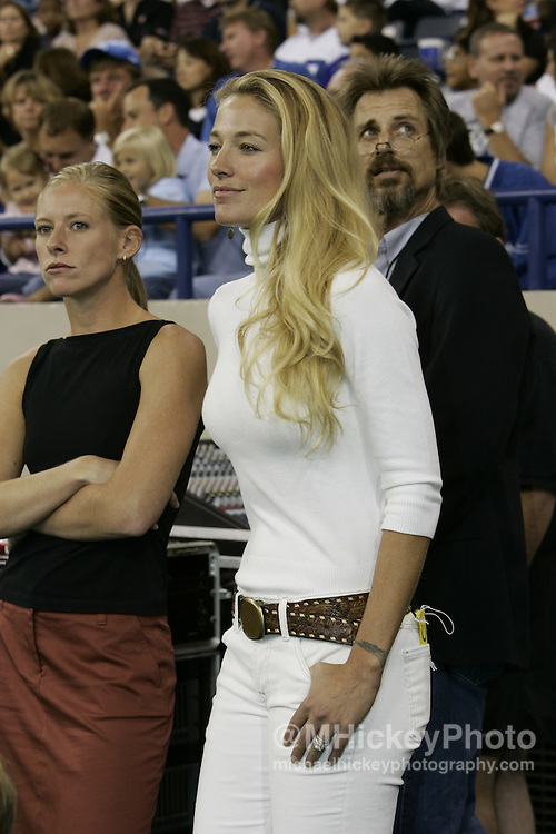 Elaine Irwin Mellencamp seen in Indianapolis, Indiana at an Indianapolis Colts game on the sidelines. Photo by Michael Hickey