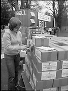 "1982<br /> 27.02.1982<br /> 02.27.1982<br /> 27 Feb 1982<br /> Red Cross Food Packs for Poland at Ratra House, Phoenix Park, Dublin.<br /> Siobhan Sheridan,Finglas unit of Irish Red Cross Society.<br /> 5000 sticky labels had to be applied by hand ""A sticky Job"""